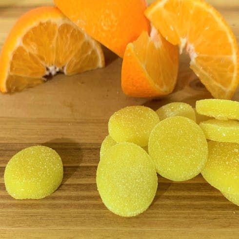 feature image 20pk. Tangerine CBD 20:1 Chews 5mg