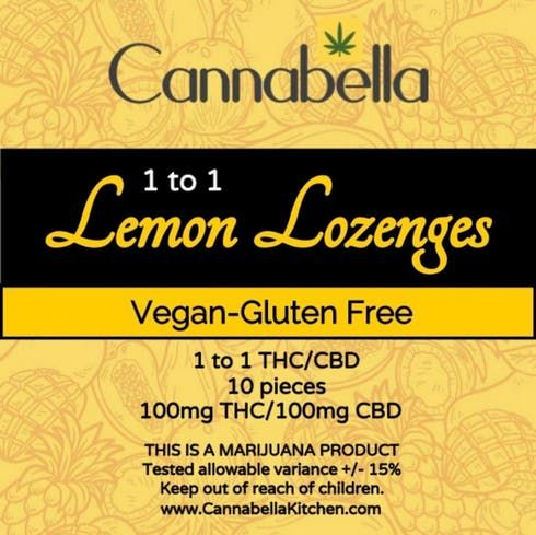 feature image 1:1 Lemon Drops 10pk by Cannabella