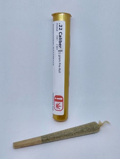 feature image .22 Calibur - 1 Gram - Pre-Roll