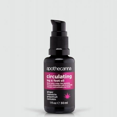 feature image Apothecanna - Circulating Body Oil (1 oz)