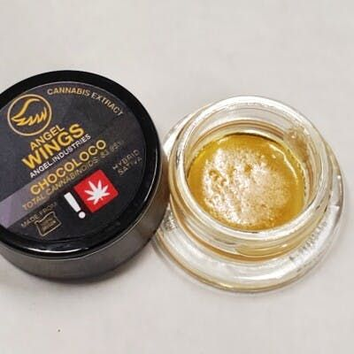 feature image (Angel Wings) Chocoloco 1g Live Resin