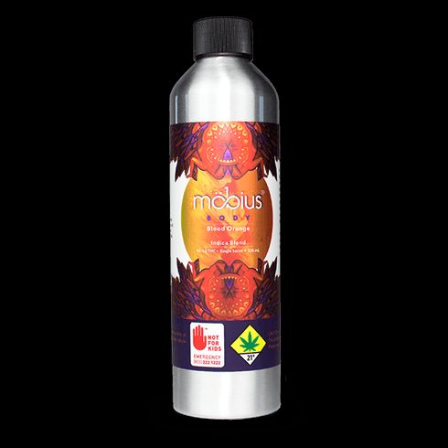 feature image 1:1 Drink- Indica Blood Orange (Mobius) 200mg