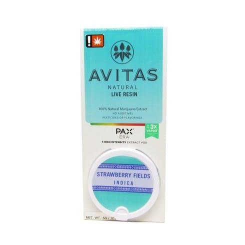 feature image Avitas Pax Pod | Hawaiian Haze | CO2 | 0.5g