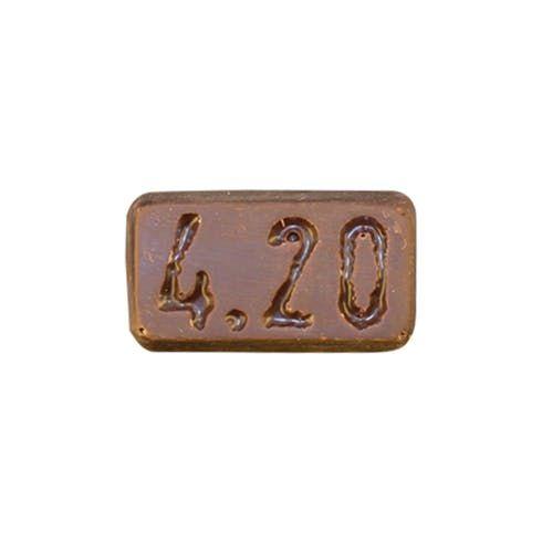 feature image 420 Mini Dark Chocolate Sea Salt Single 10mg  - Evergreen Herbal