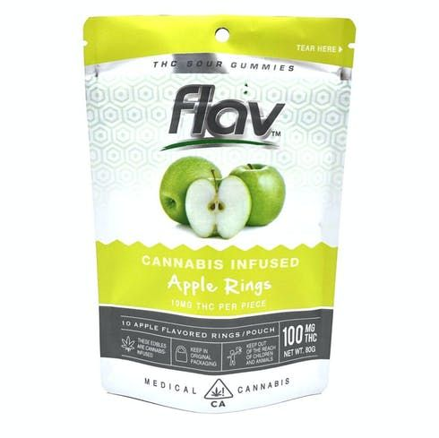feature image 100mg Apple Rings - Flav