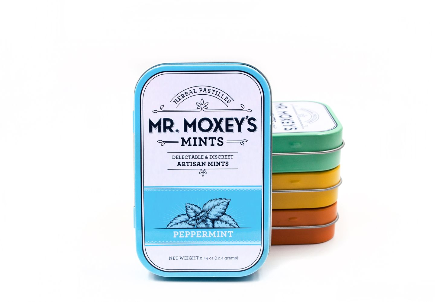 feature image Mr. Moxeys Mints Peppermint 125mg