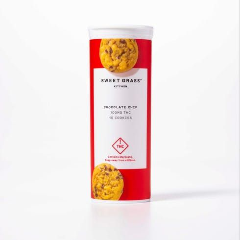 feature image Chocolate Chip Cookie 100mg