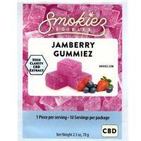 feature image Smokiez Gummiez 250mg (Various Flavors)