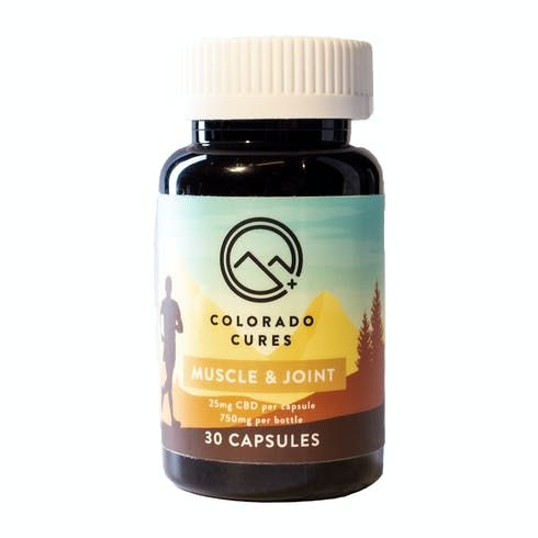 feature image Colorado Cures - Capsule - Muscle and Joint 25mg 30ct