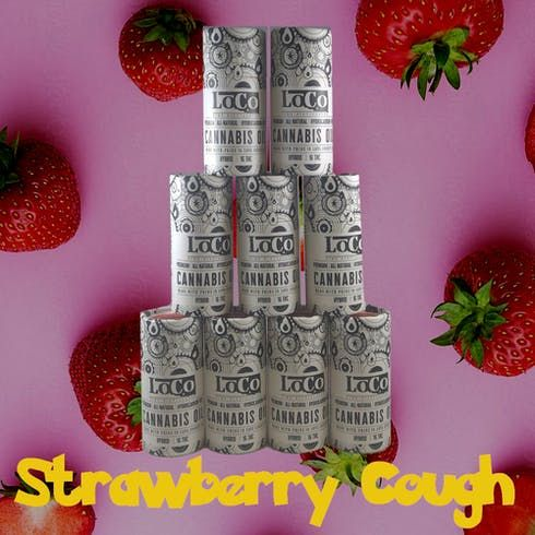 feature image 1mL Strawberry Cough Cartridge (TAXES INCLUDED)