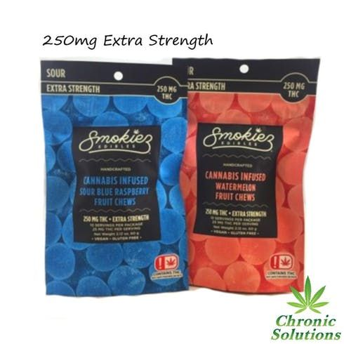 feature image 250mg Extra Strength Sour Gummies (TAXES INCLUDED)