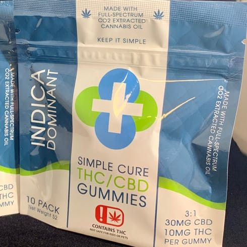 feature image 3:1 Indica Gummies 300mg CBD/ 100mg THC (Taxes Included)