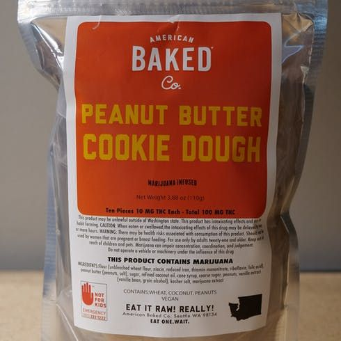feature image ABC Cookie Dough 100mg Peanut Butter