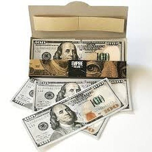 feature image $100 Bill Rolling Papers