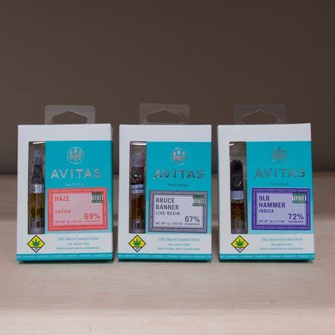feature image AV Lavender Power Plant Live Resin Cartridge 1g