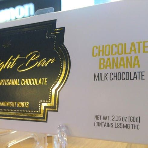 feature image Banana Chocolate Bar 185mg