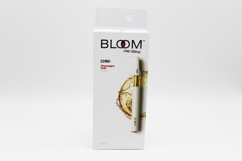 feature image Bloom Champagne Kush 0.35g Disposable