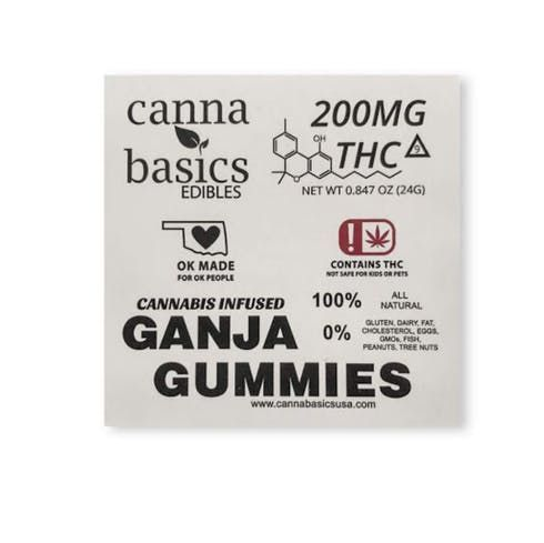 feature image 200mg Ganja Gummies