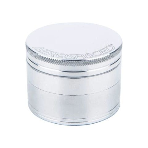 feature image Aeropsaced 4-Piece Grinder (Natural-Silver)