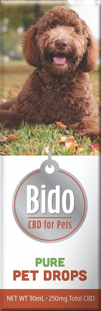 feature image Bido Hemp CBD Drops, Pure Flavor - 30mL