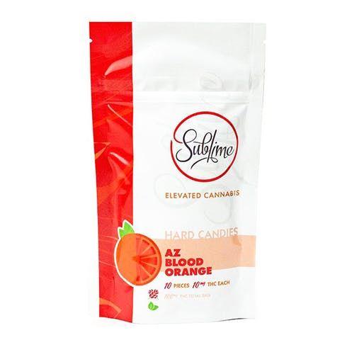 feature image AZ Blood Orange | 100mg | Hard Candy