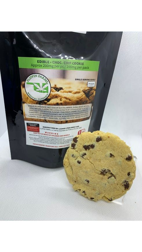 feature image 200mg Chocolate Chip Cookie
