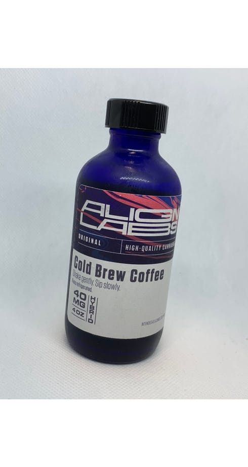 feature image 40mg Cold Brew Coffee