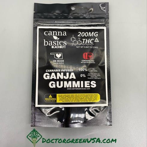 feature image 200mg Ganja Gummy Package