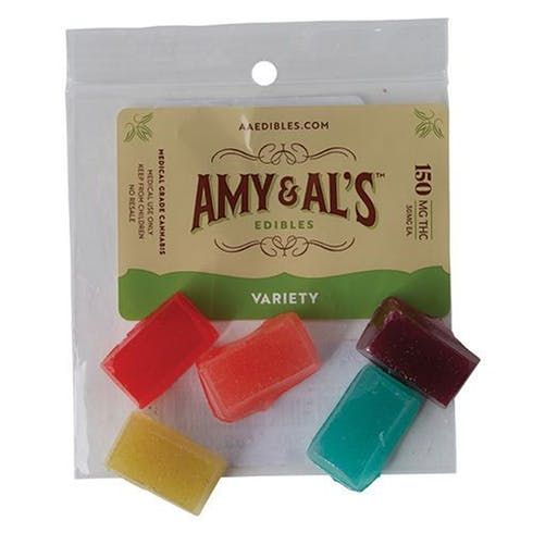 feature image Amy and Al's Variety Hard Candy 5 Pack 150mg