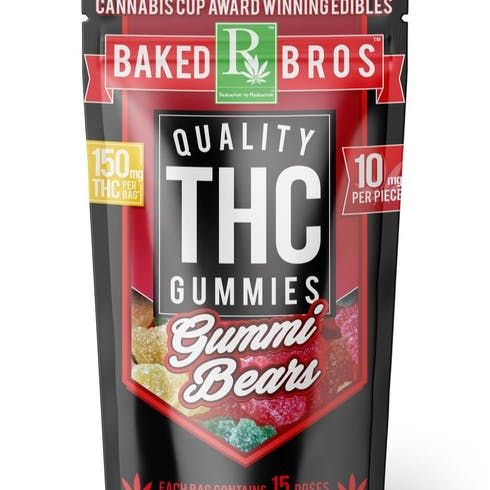 feature image Baked Bros | Gummie Bears | Indica