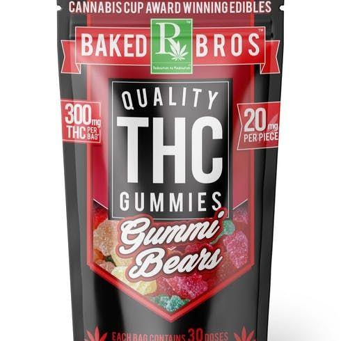 feature image Baked Bros | Gummie Bears | Sativa