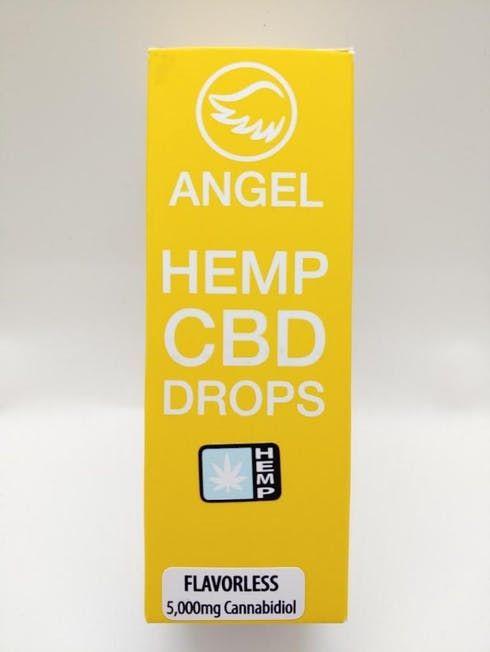 feature image Angel - Flavorless Hemp CBD Drops - 5000mg