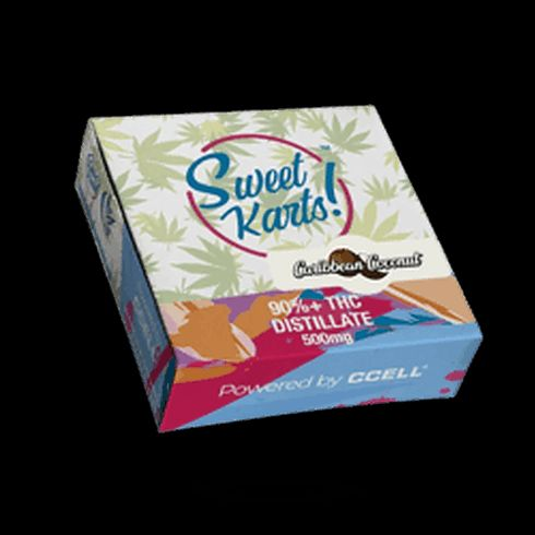 feature image Caribbean Coconut Sweet Kart DART 500mg