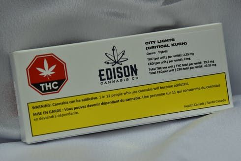 feature image 1 X 0.5G City Lights Pre-Roll