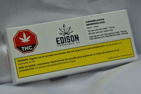 feature image 1 X 0.5G Casa Blanca Pre-Roll