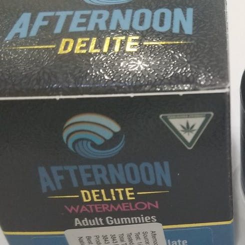 feature image Afternoon Delight Gummy-Watermelon 10x10mg