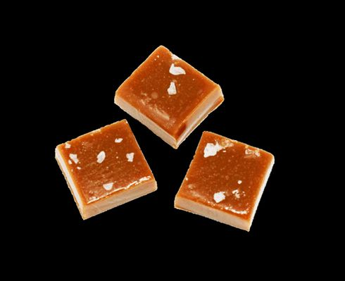 feature image Exhale Sea Salt Caramels - 50mg