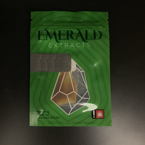 feature image 	Cindy's Tangello  Shatter by Emerald Extracts