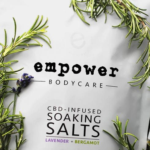 feature image 4 Oz Cannabis Infused Soaking Salts (Empower BodyCare)