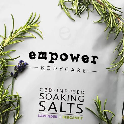 feature image 16 oz Cannabis Infused Soaking Salts (Empower BodyCare)