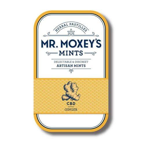 feature image 5:1 CBD Ginger Mints (MR.MOXEY'S MINTS)