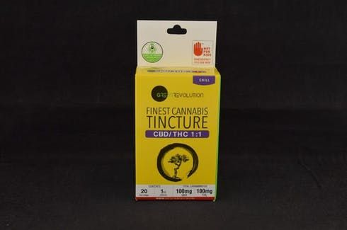 feature image 1:1 CBD/THC Tincture - Green Revolution