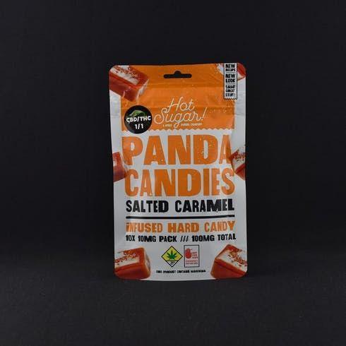 feature image 1:1 Salted Caramel Panda Candies 10pk - Phat Panda