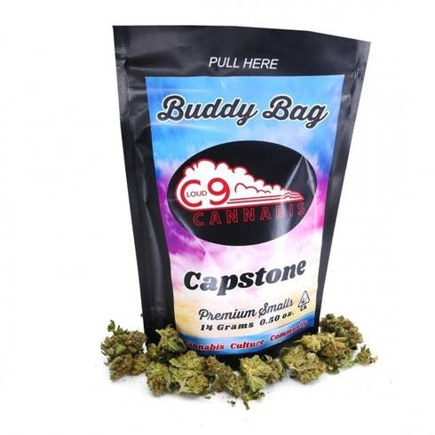 feature image 14g Buddy Bags - Capstone (Sativa-Dominant) - Cloud9 Cannabis