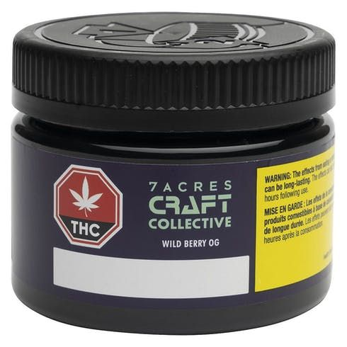 feature image 7Acres - Craft Collective: Wild Berry OG