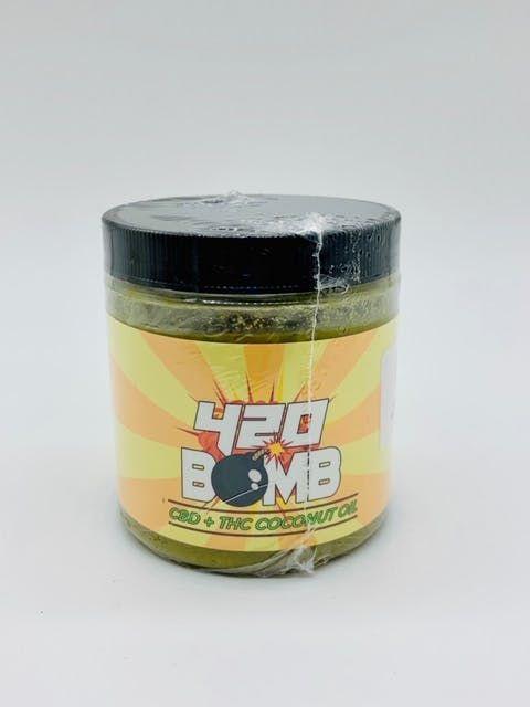 feature image 420 Bomb Coconut Oil