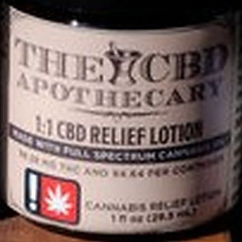 feature image 1:1 CBD Relief Lotion