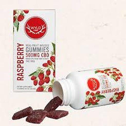 feature image  CBD Rasberry Gummies