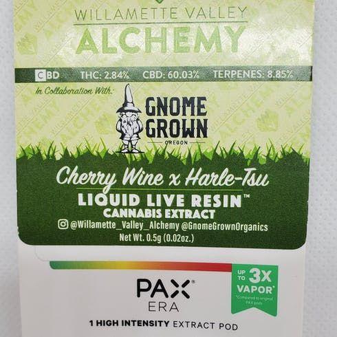 feature image (PAX) Cherry Wine X Harle-Tsu Liquid Live Resin
