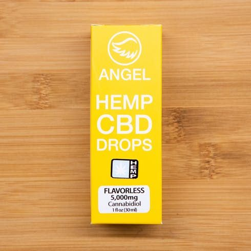feature image Angel Hemp CBD Drops 6000mg Unflavored